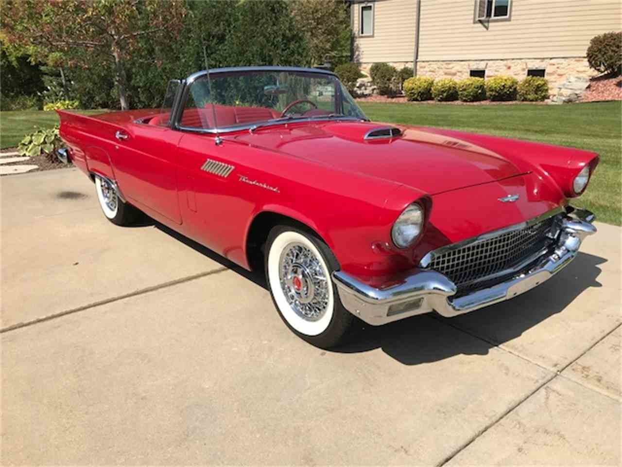 Latest 1957 Ford Thunderbird For Sale Classiccars Com Cc 1036174 Free Download