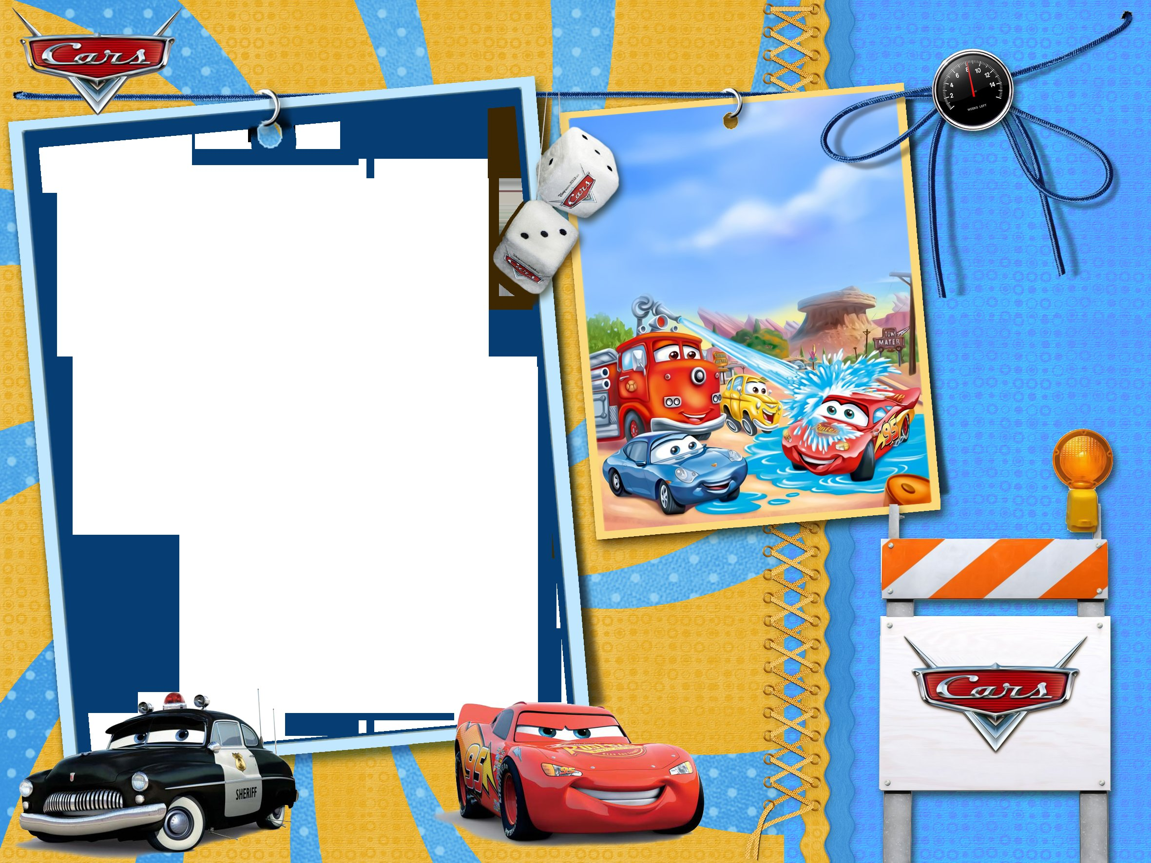 Latest Cars Kids Transparent Photo Frame Gallery Yopriceville Free Download