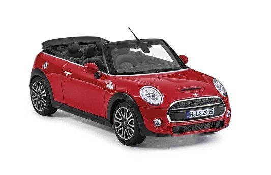 Latest Genuine Mini Convertible 2016 Miniature Die Cast Model Car Free Download