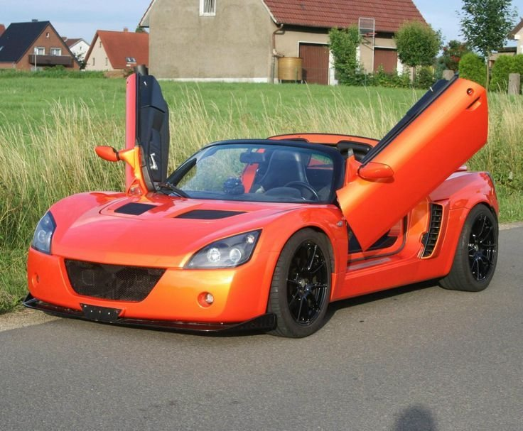 Latest Opel Speedster Tuning Sports Car The Opel Speedster Tuning Free Download