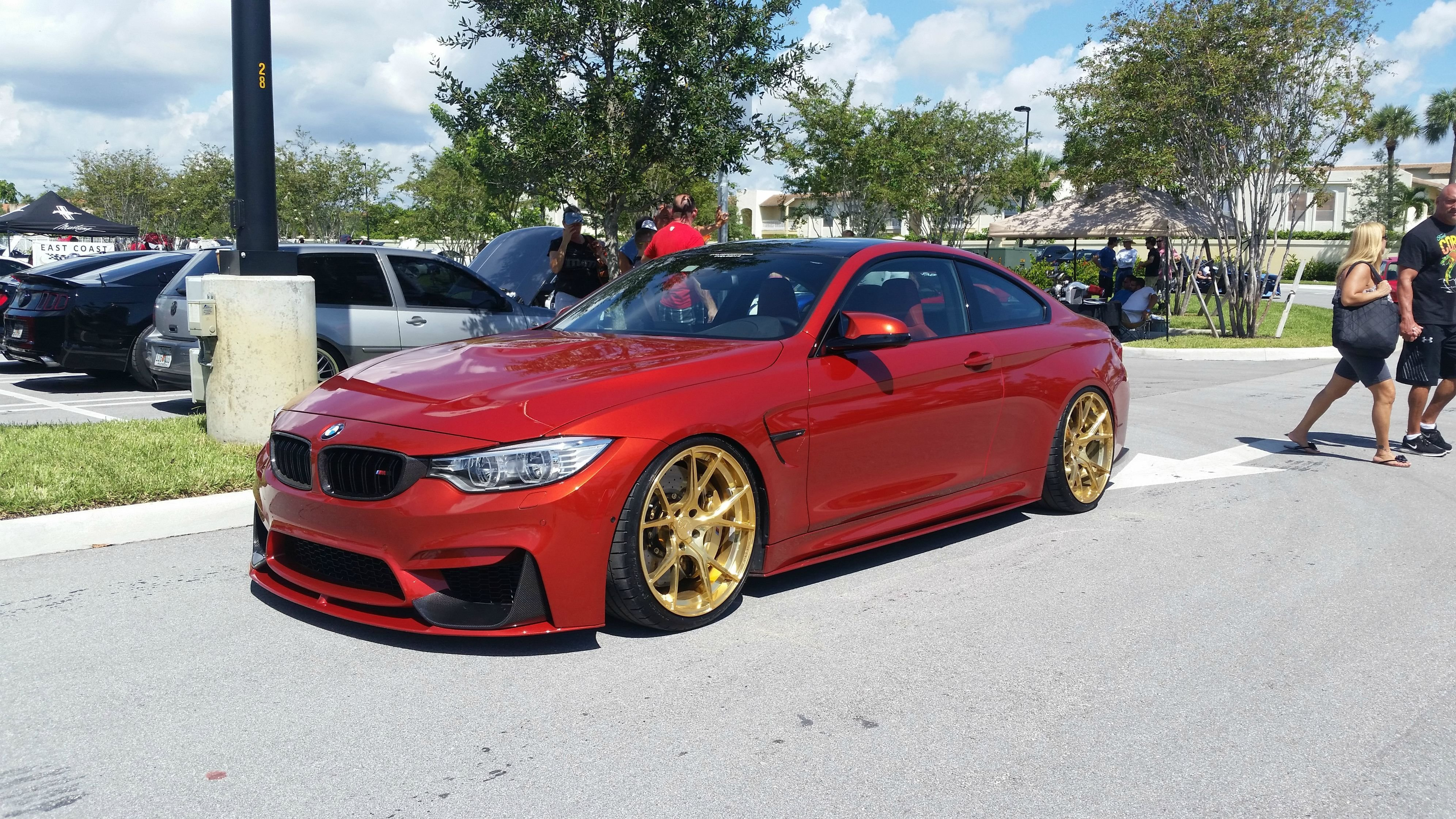 Latest Oc Bmw M4 Gold Velos Rims Album In Comments 5312X2988 Free Download