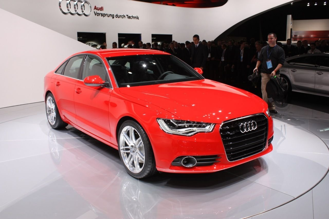 Latest 2012 Red Audi A6 Hd Wallpaper Audi Wallpapers Free Download