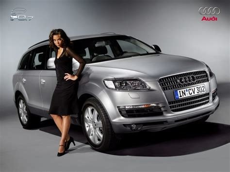 Latest Audi Q7 Ridingirls Free Download