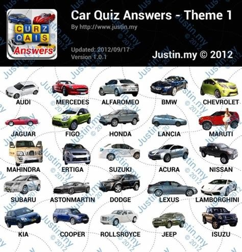 Latest Car Quiz Answers For Iphone Ipad Ipod Free Download Original 1024 x 768