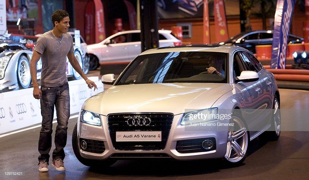 Latest Real Madrid Player Raphael Varane Receives A New Audi Car Free Download