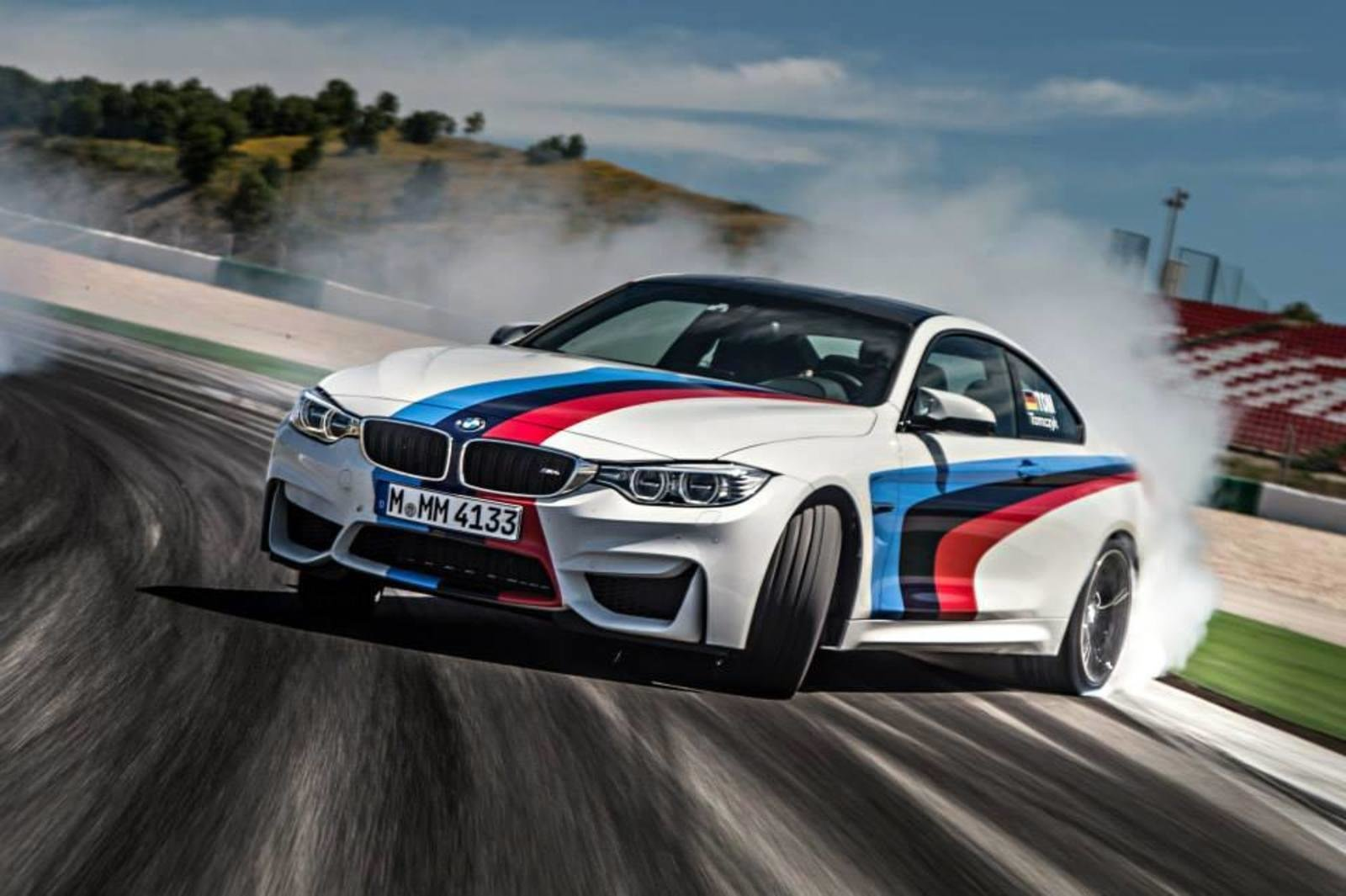 Latest The M4 Coupe Tries On Bmw S Official Racing Colors News Free Download