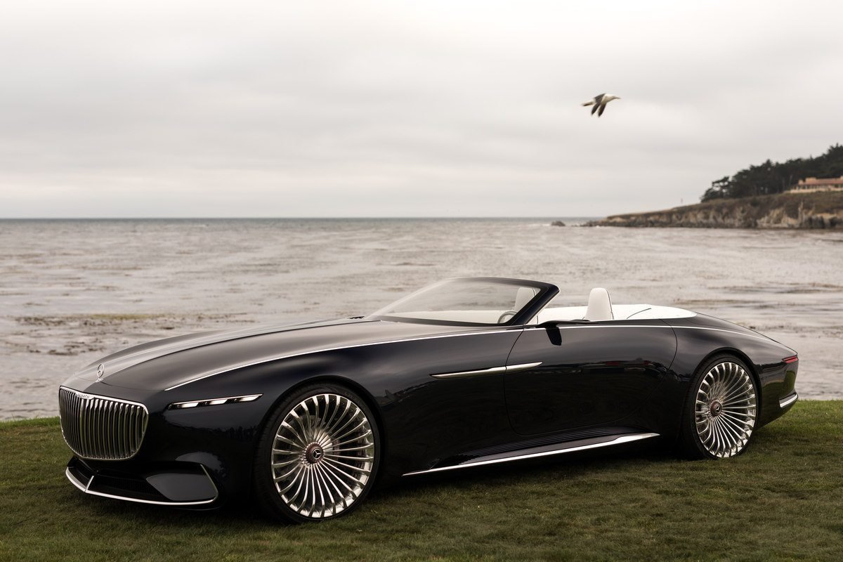 Latest Vision Mercedes Maybach 6 Cabriolet Future Of Luxury Cars Free Download