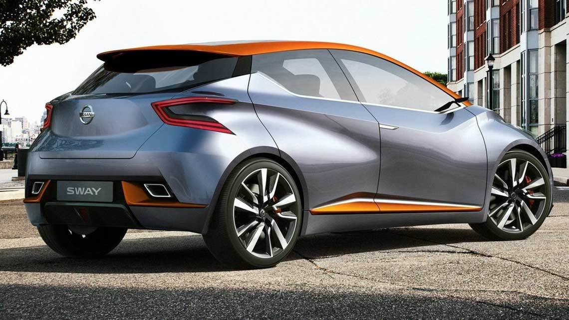 Latest Sway Concept Previews Nissan Small Car Design Direction Free Download