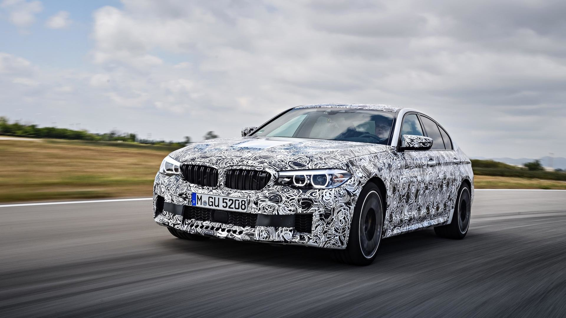 Latest 2018 Bmw M5 F90 Leaked Looks Amazing In Official Photos Free Download