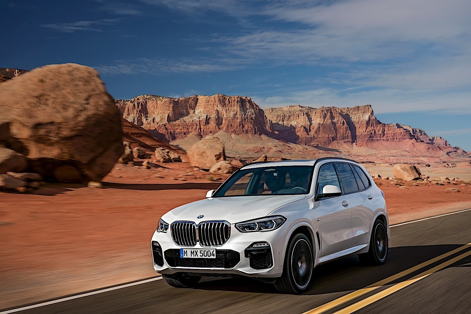 Latest 2019 Bmw X5 Breaks Cover As Bigger Meaner Suv Autoevolution Free Download