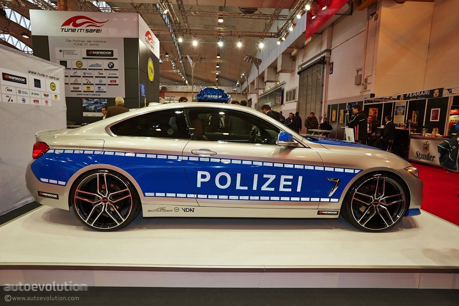 Latest Bmw 428I Police Car By Ac Schnitzer At Essen 2013 Video Free Download
