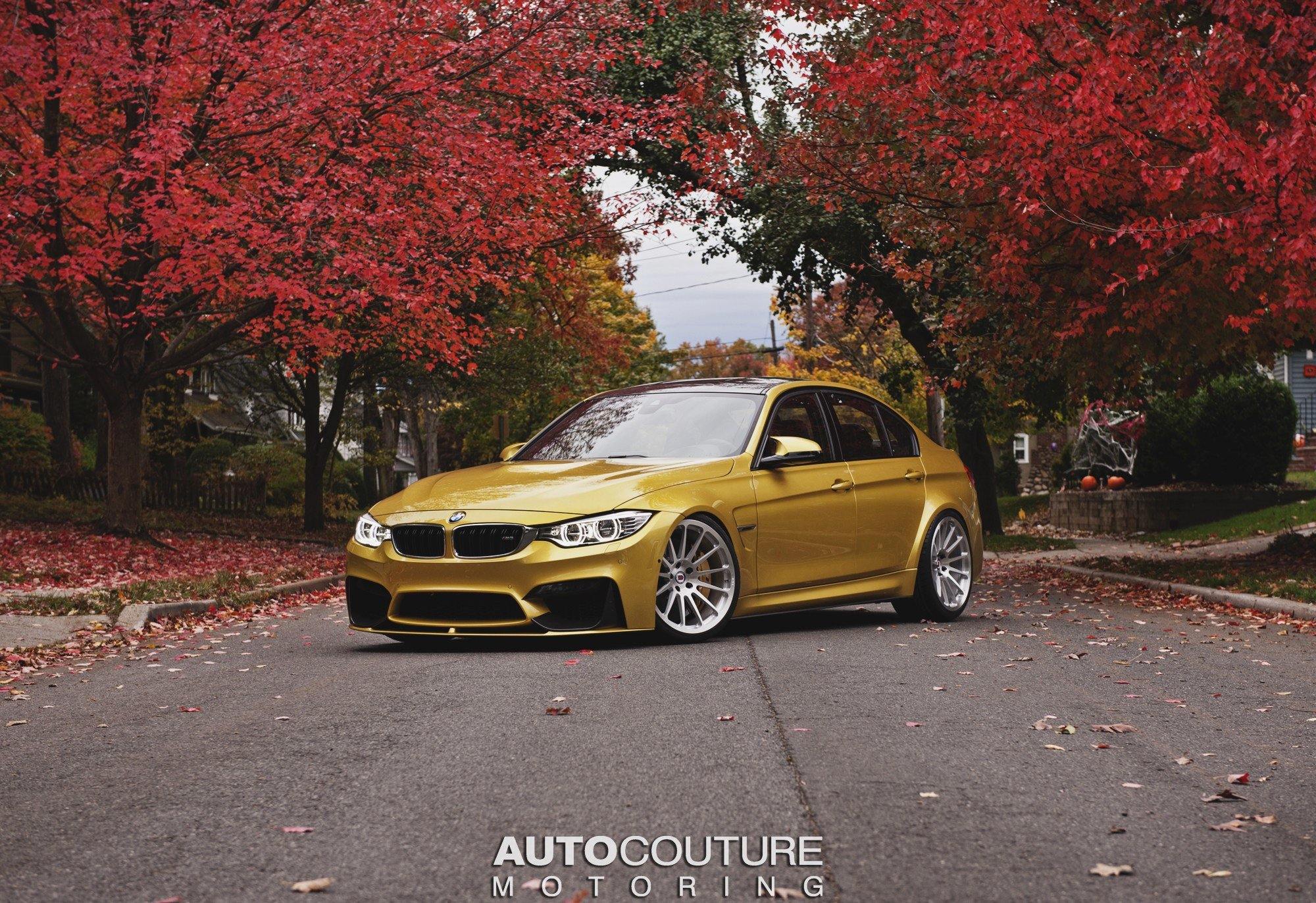 Latest Bmw F80 M3 Shows Its Autumn Colors On Hre Classic Wheels Free Download
