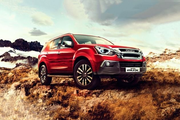 Latest Isuzu Mux Price Images Review Specs Free Download