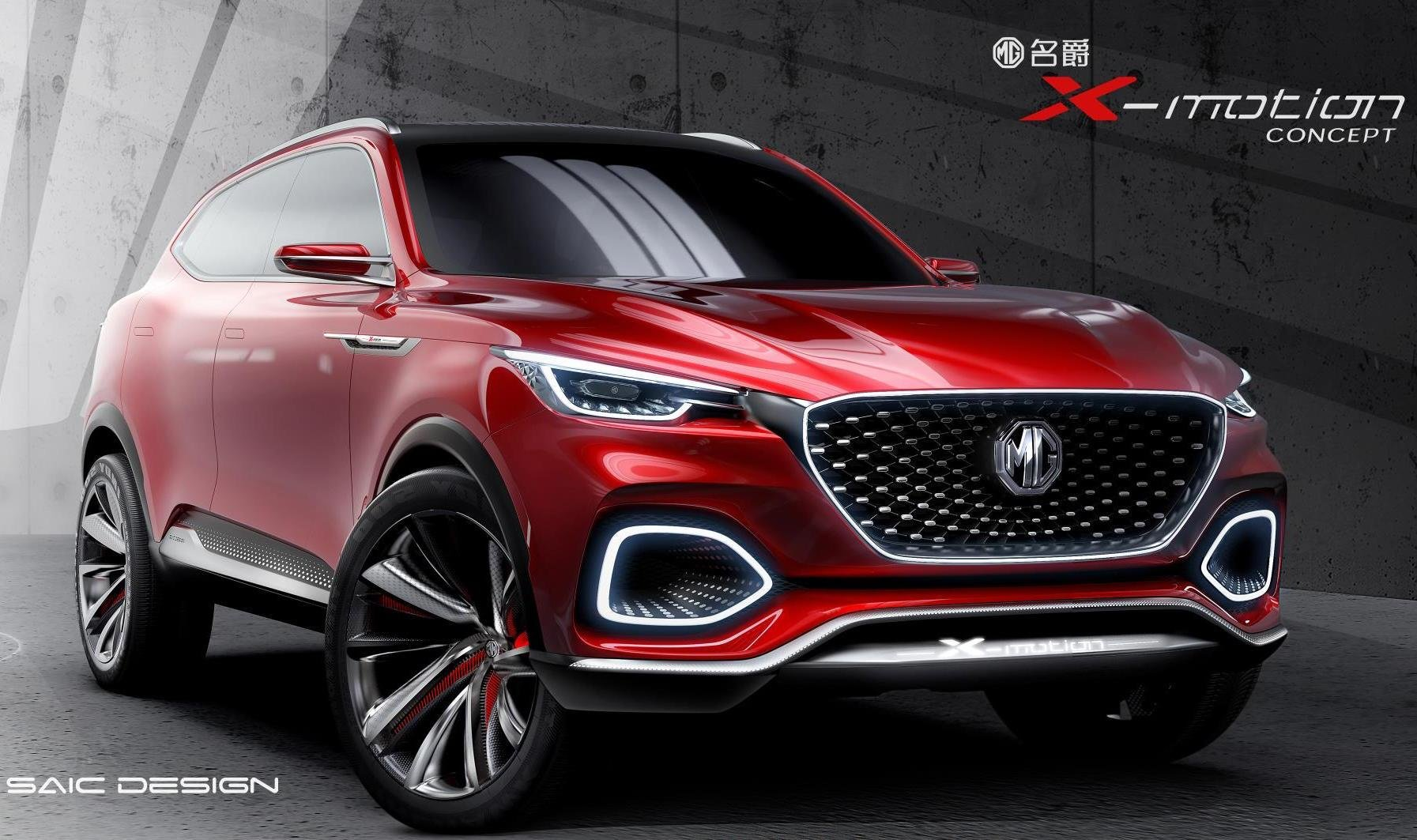 Latest Elegant Mg X Motion Concept Previews New Flagship Suv Free Download