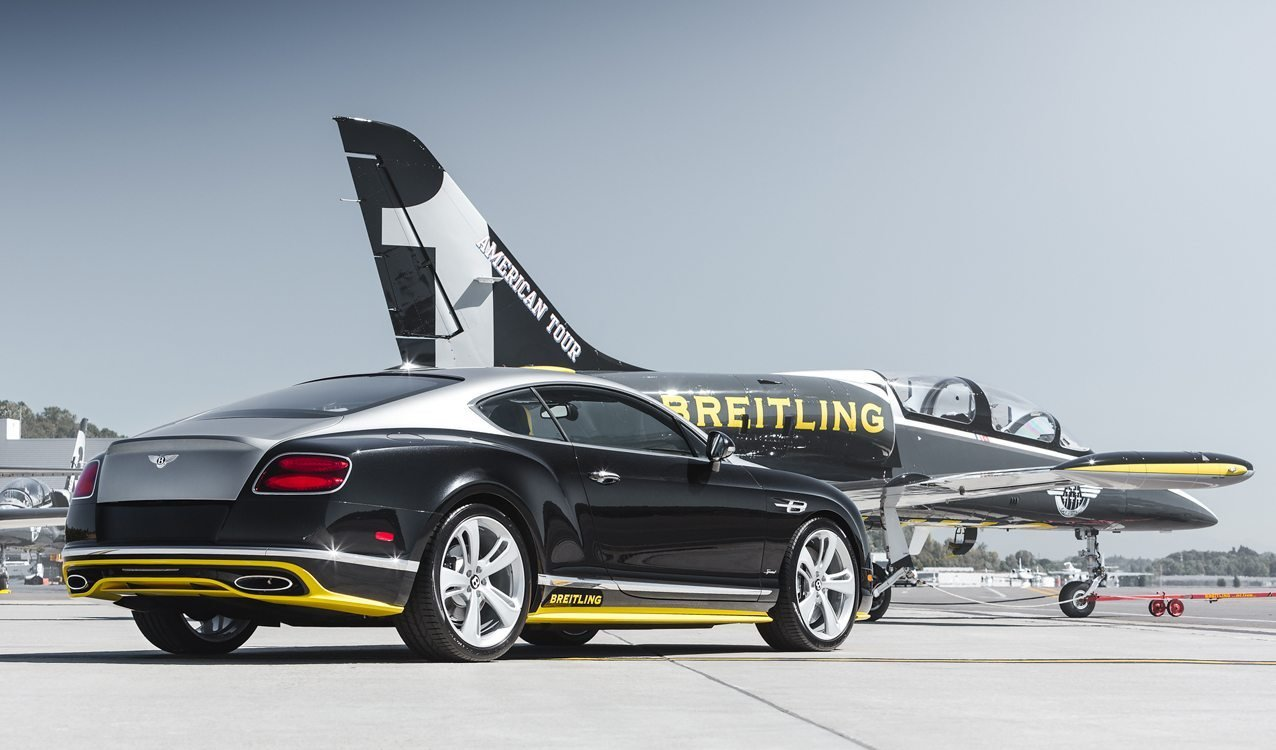 Latest Extremely Rare Bentley Continental Speed Breitling Jet Free Download