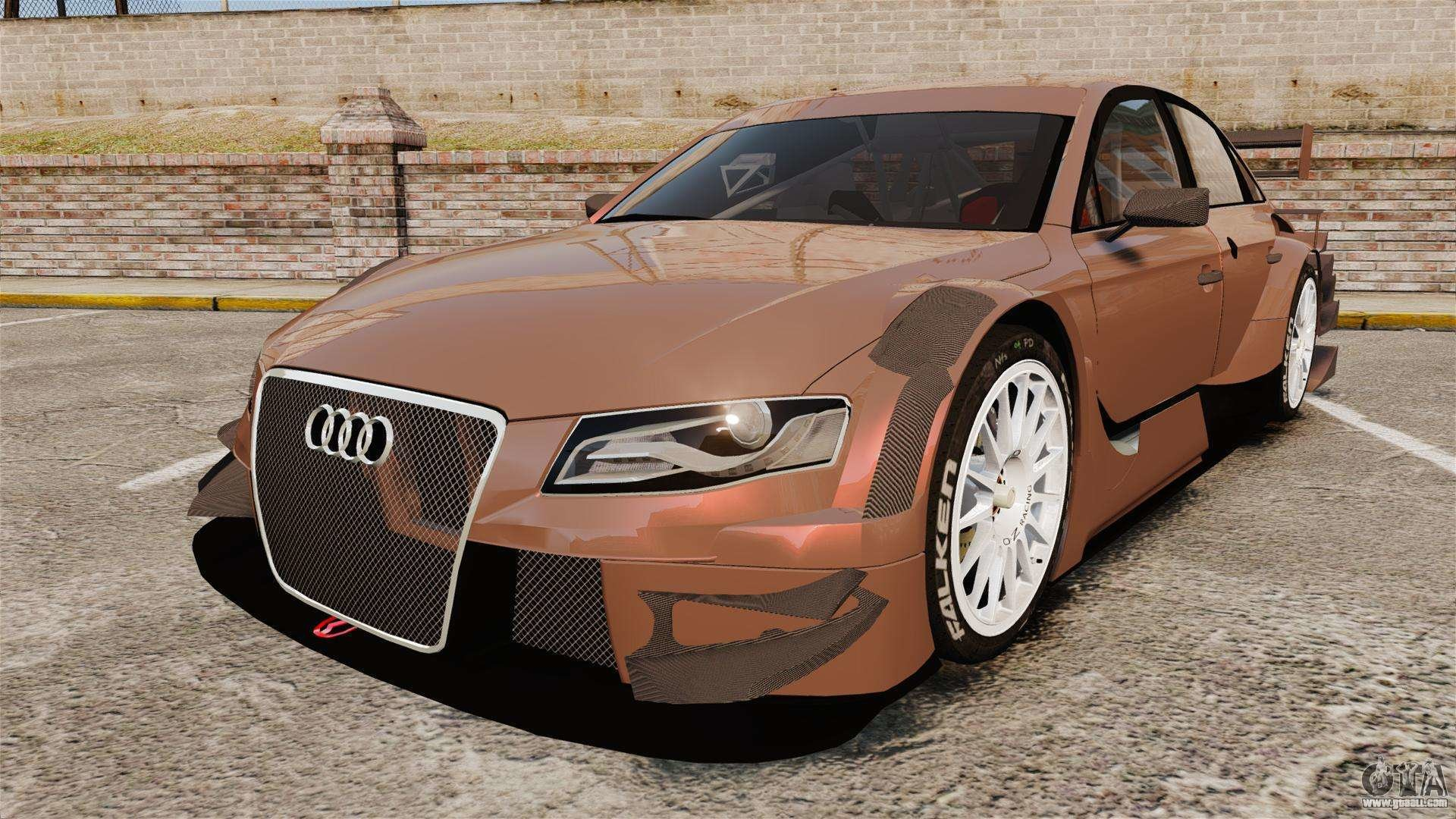 Latest Audi A4 2008 Touring Car For Gta 4 Free Download