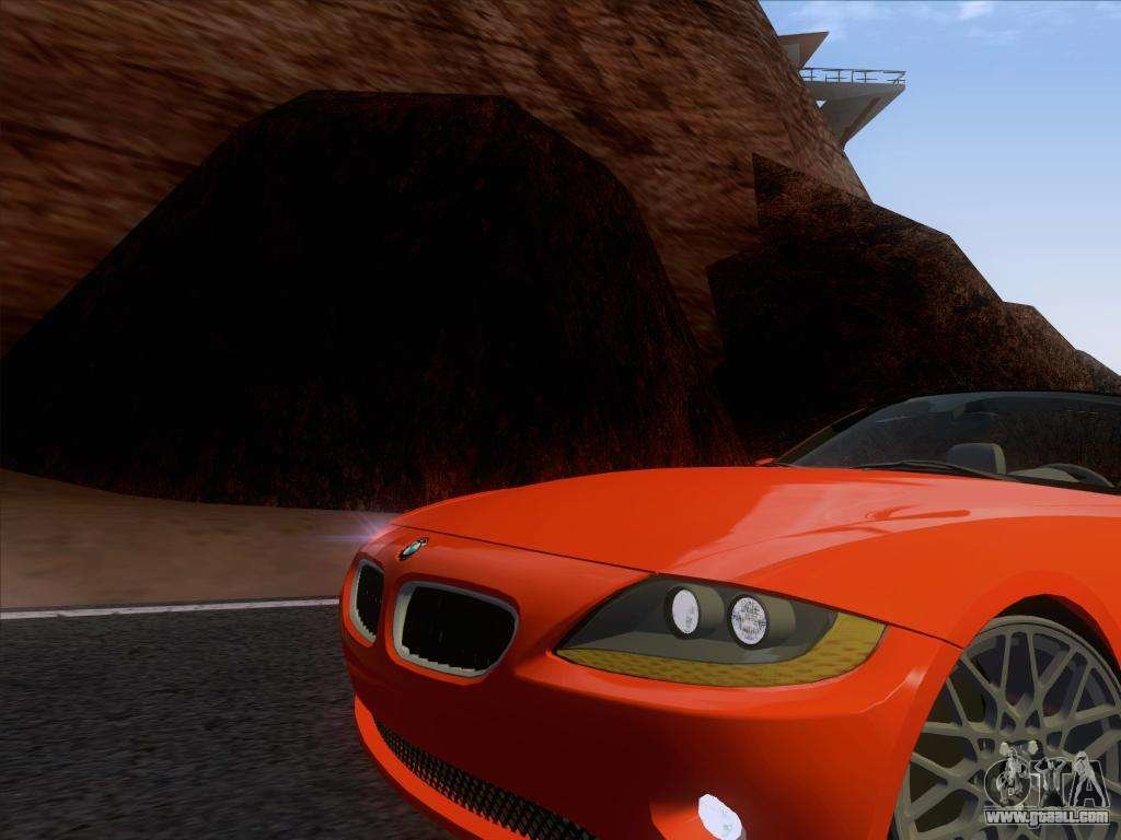 Latest Bmw Z4 Edit For Gta San Andreas Free Download