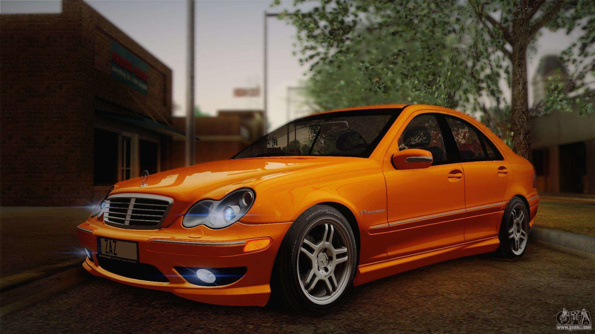 Latest Mercedes Benz C32 Amg 2004 For Gta San Andreas Free Download