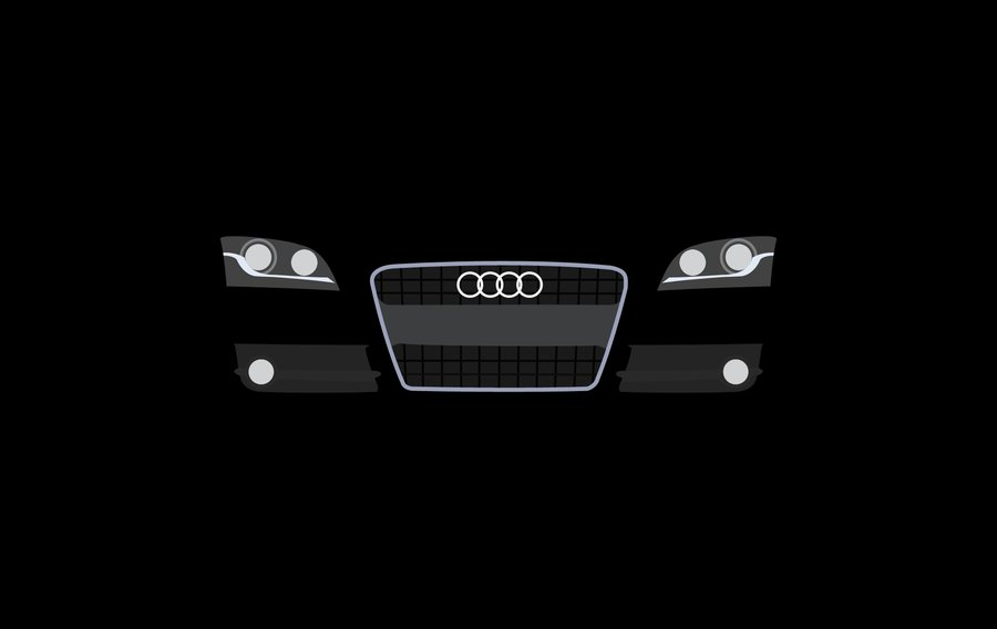 Latest Audi Logo Hd Wallpaper Wallpapersafari Free Download