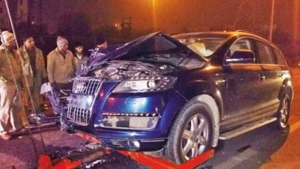 Latest Ghaziabad Audi Crash Don T Know What Audi Looks Like Free Download