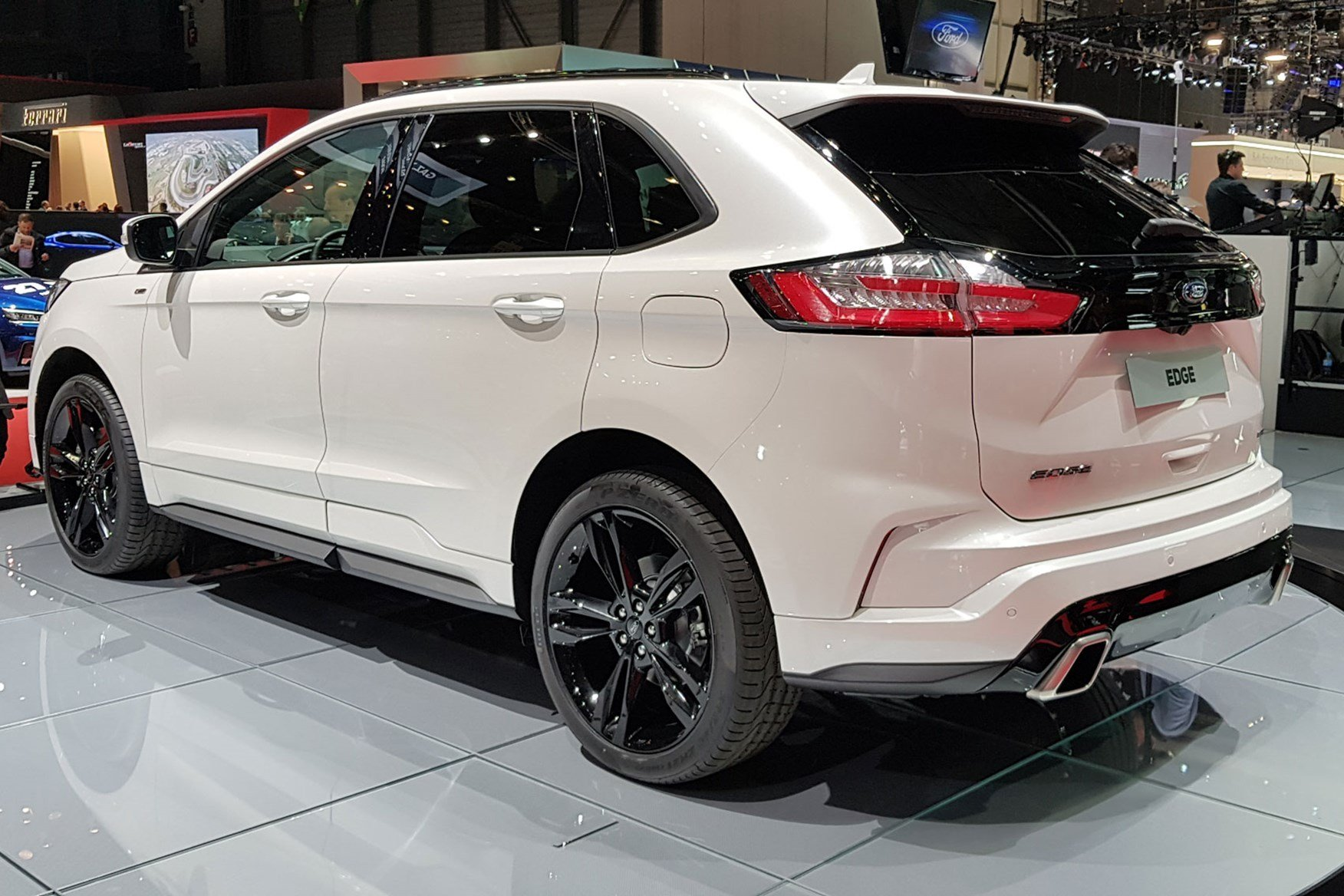 Latest New Ford Edge Updated Suv Arrives At Geneva 2018 Car Free Download