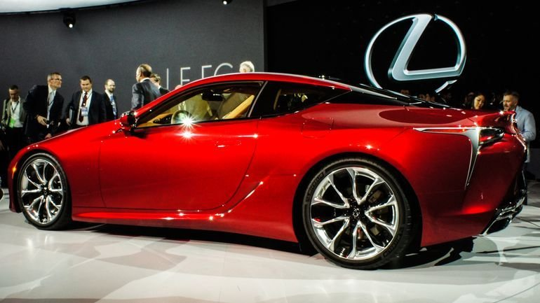 Latest Stylish New Lexus Coupe Sports Eight Cylinders Ten Gears Free Download