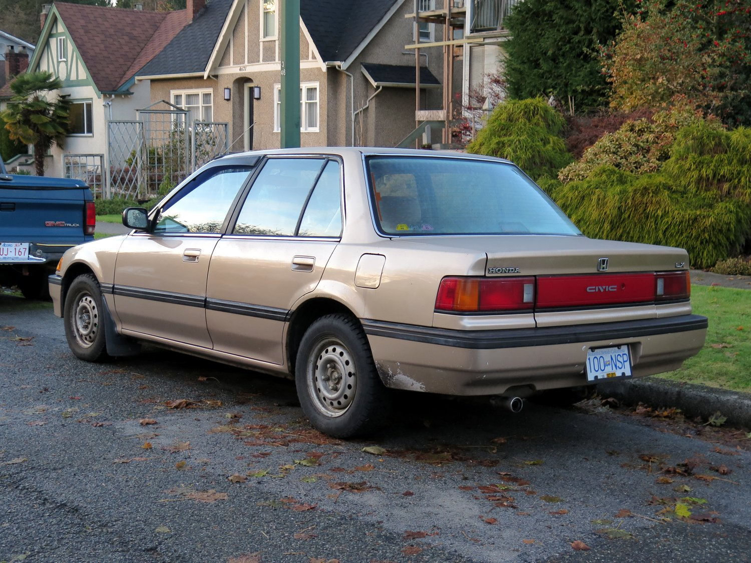Latest Old Parked Cars Vancouver 1990 Honda Civic Lx Free Download