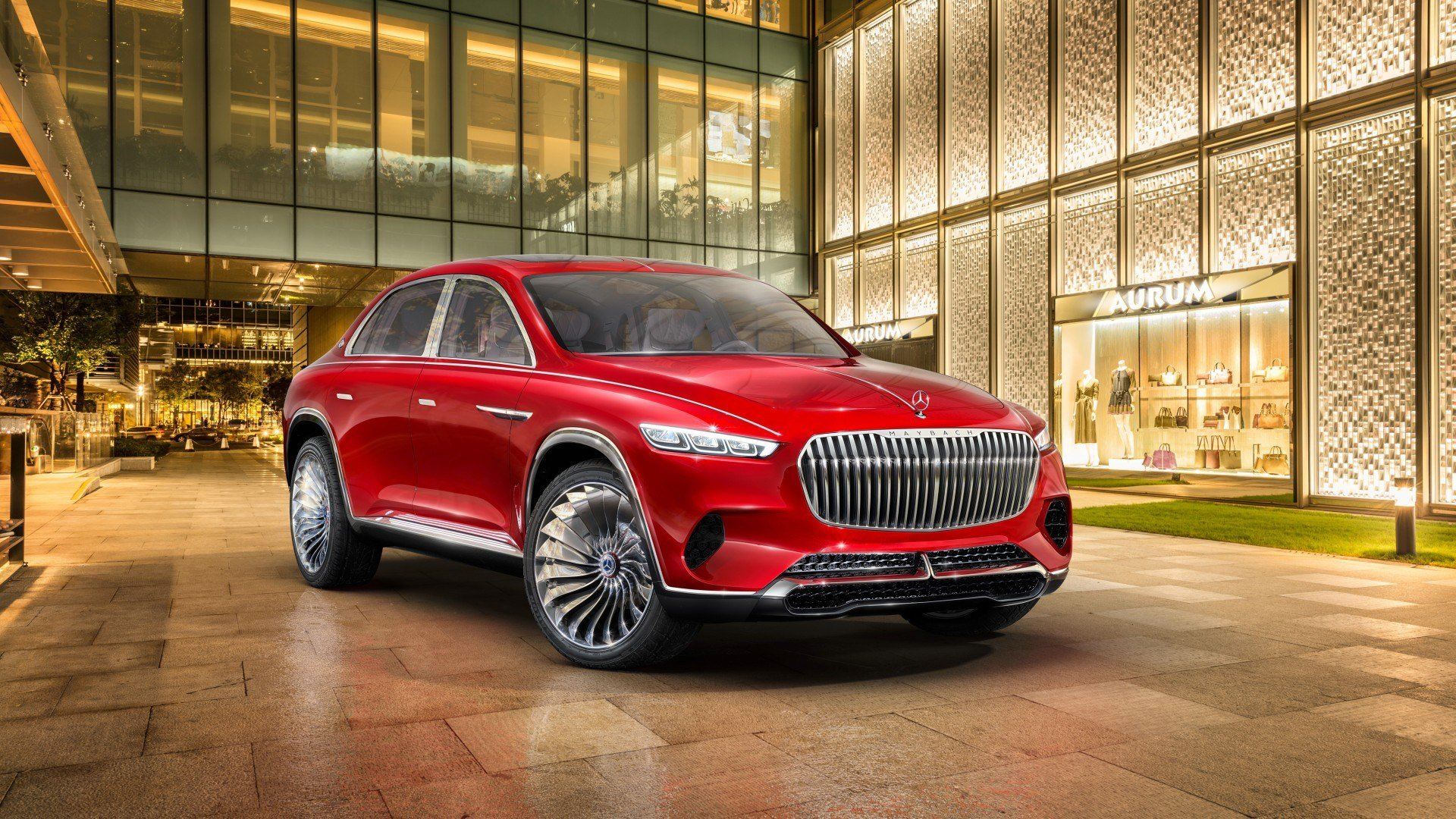 Latest 2018 Vision Mercedes Maybach Ultimate Luxury 4K Wallpaper Free Download