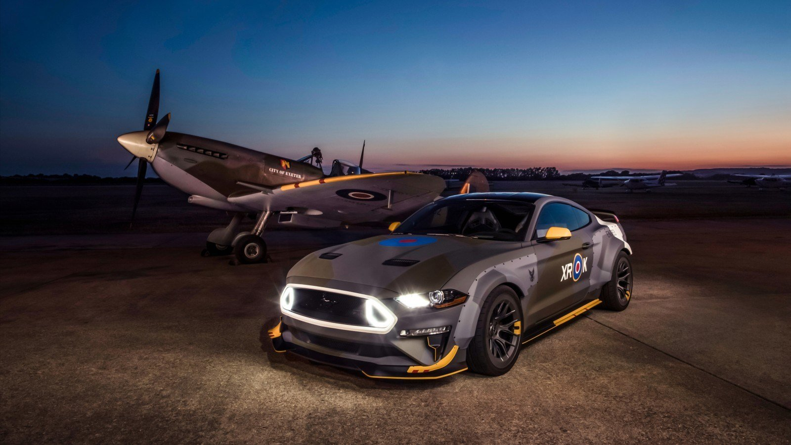 Latest Ford Eagle Squadron Mustang Gt 2018 4K 2 Wallpaper Hd Free Download