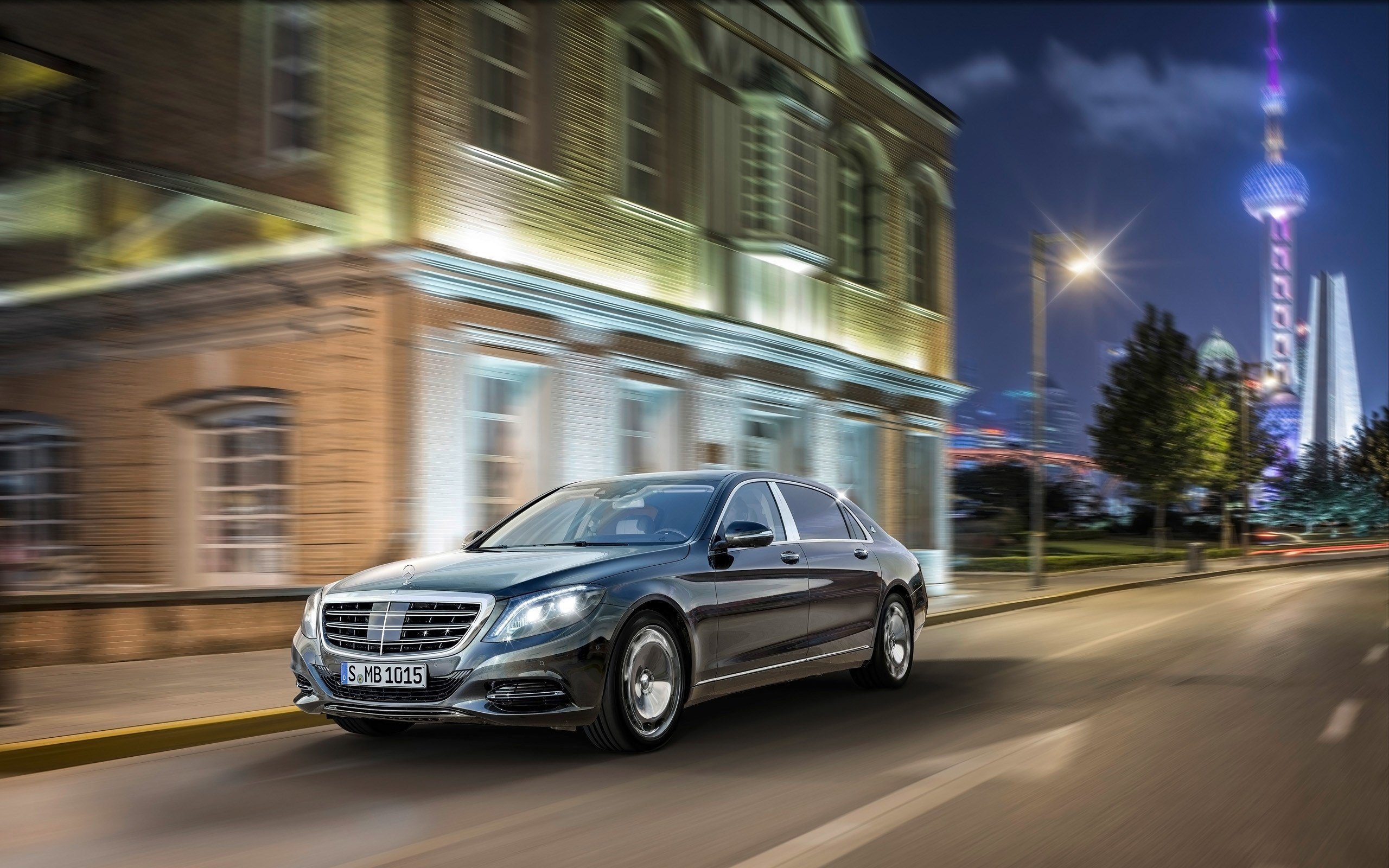 Latest 2015 Mercedes Maybach S Class Wallpaper Hd Car Free Download