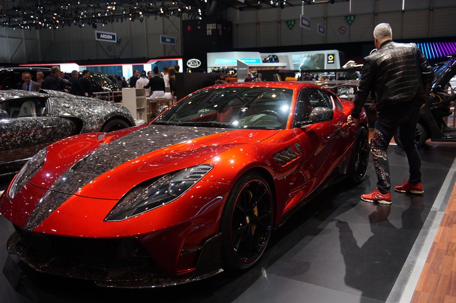 Latest Gallery All The Tacky Exotic Cars Mansory Brought To Geneva Free Download