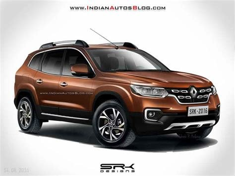 Latest 2018 Renault Duster Imagined Looks Sportier – Rendering Free Download