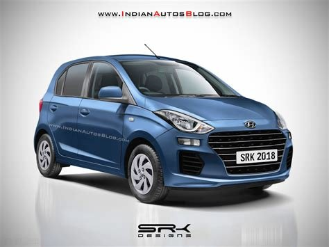 Latest Production Spec New Hyundai Santro Rendered Launch This Free Download