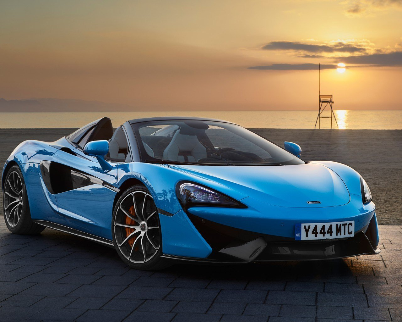 Latest Wallpaper Mclaren 570S Spider 2018 Hd 4K Automotive Free Download