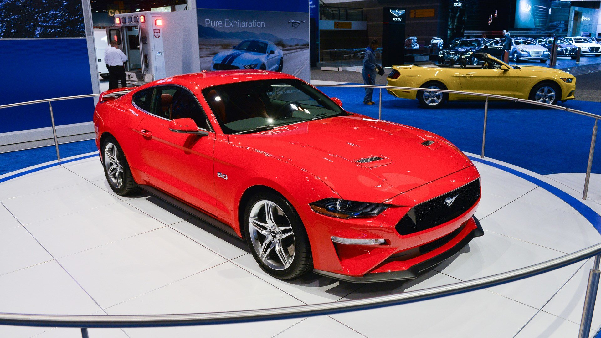 Latest 2018 Ford Mustang Looks Like Pony Car Perfection In Chicago Free Download