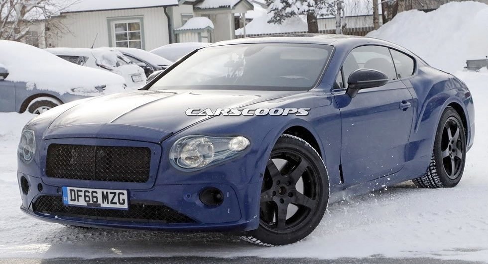 Latest 2018 Bentley Continental Gt To Be Lighter Faster And Free Download