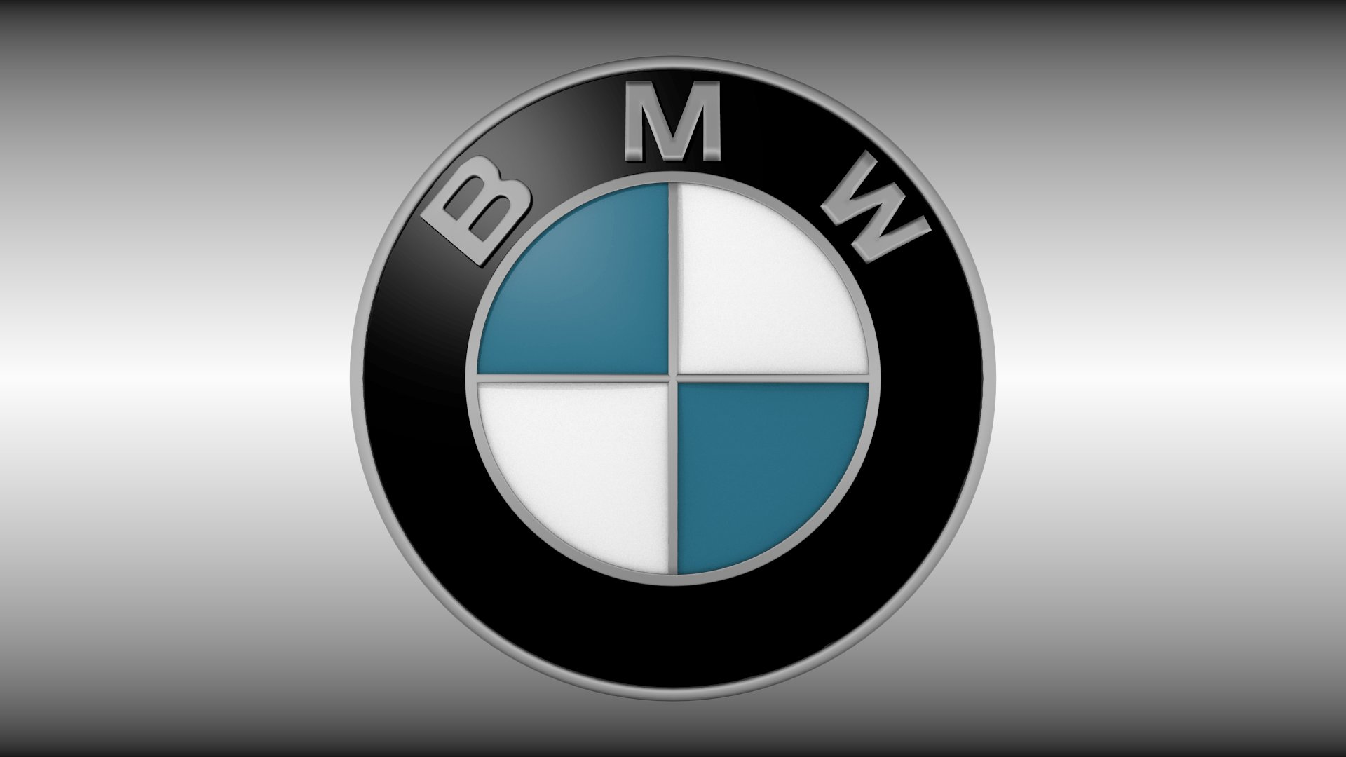 Latest Bmw Logo 3D Model Obj Blend Cgtrader Com Free Download