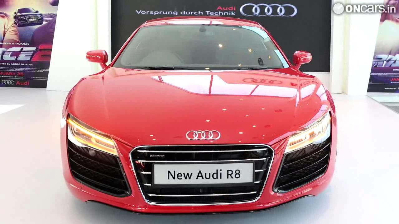 Latest 2013 Audi R8 Facelift Launched In India At Rs 1 34 Crore Free Download