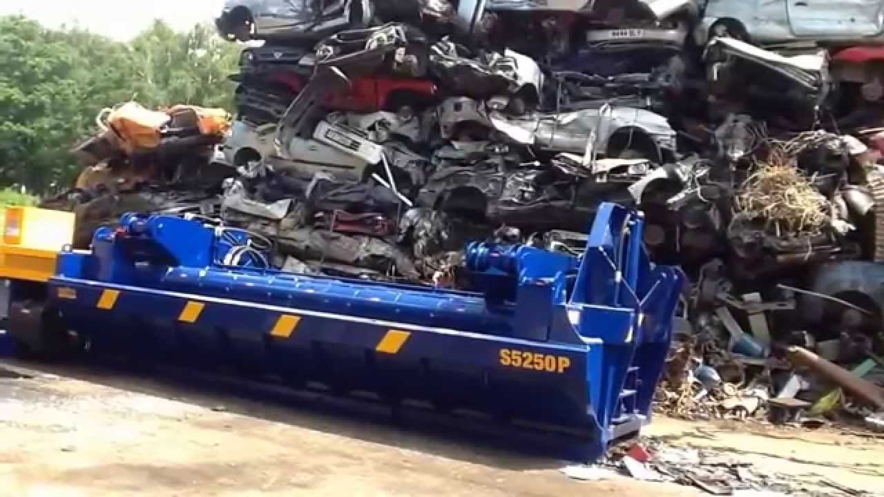Latest Ecotecnica Orca S5250P Car Baler Youtube Free Download
