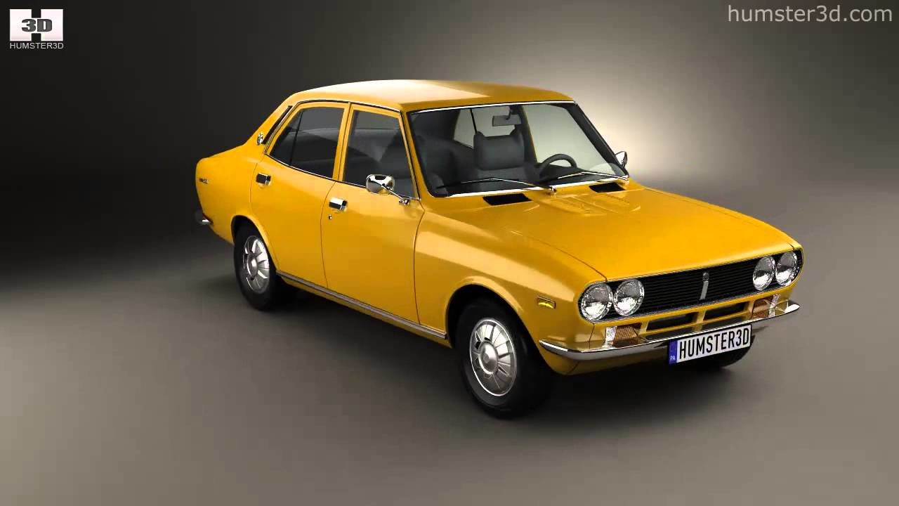Latest Mazda Capella 616 Sedan 1974 By 3D Model Store Humster3D Free Download