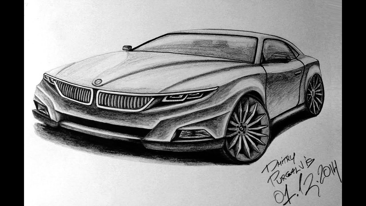 Latest Drawing Bmw M Sport Coupe Concept Youtube Free Download