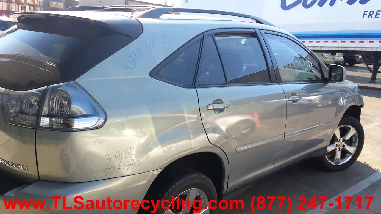 Latest Lexus Rx330 2005 Car For Parts Youtube Free Download