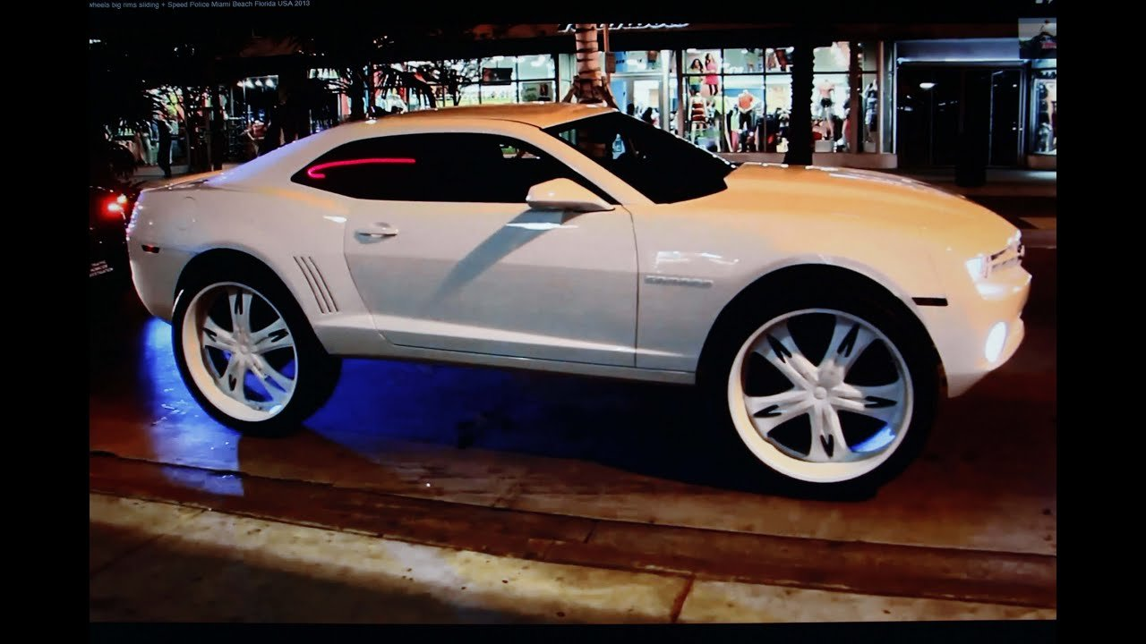 Latest Big Cars Big Wheels 32 Inch Rims V6 V8 Motorpower Police Free Download