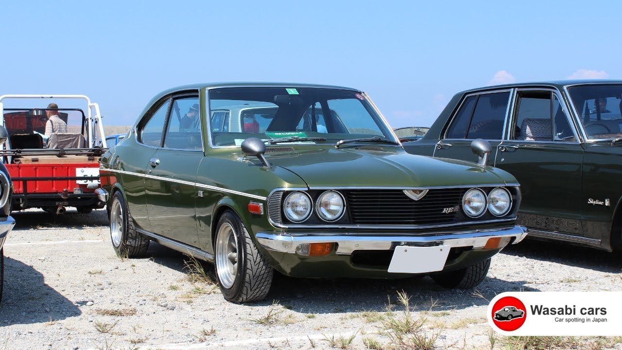 Latest This Is Hot A 1974 Mazda Capella Rx2 Gs Ii 12A Rotary Free Download