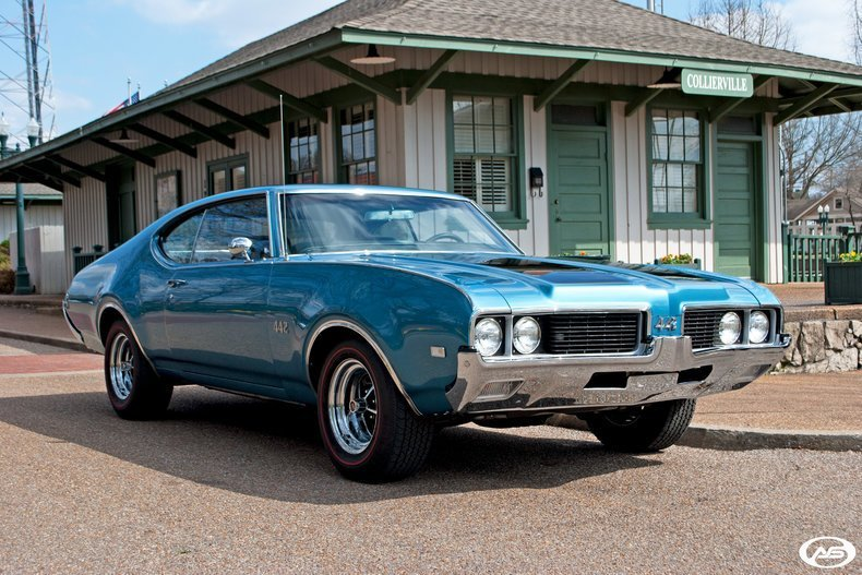 Latest 1969 Oldsmobile 442 Art Speed Classic Car Gallery In Free Download