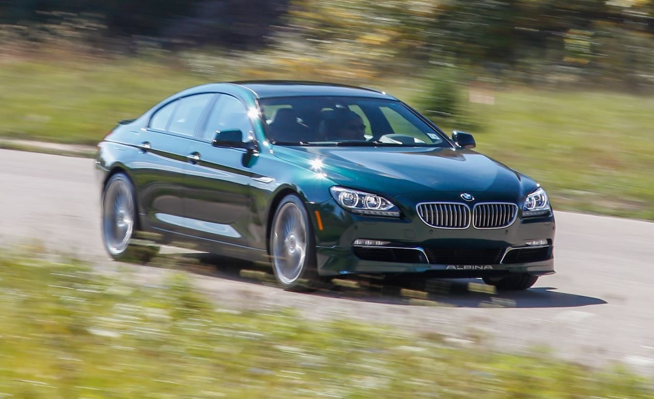 Latest 2015 Bmw Alpina B6 Gran Coupe Test Review Car And Driver Free Download