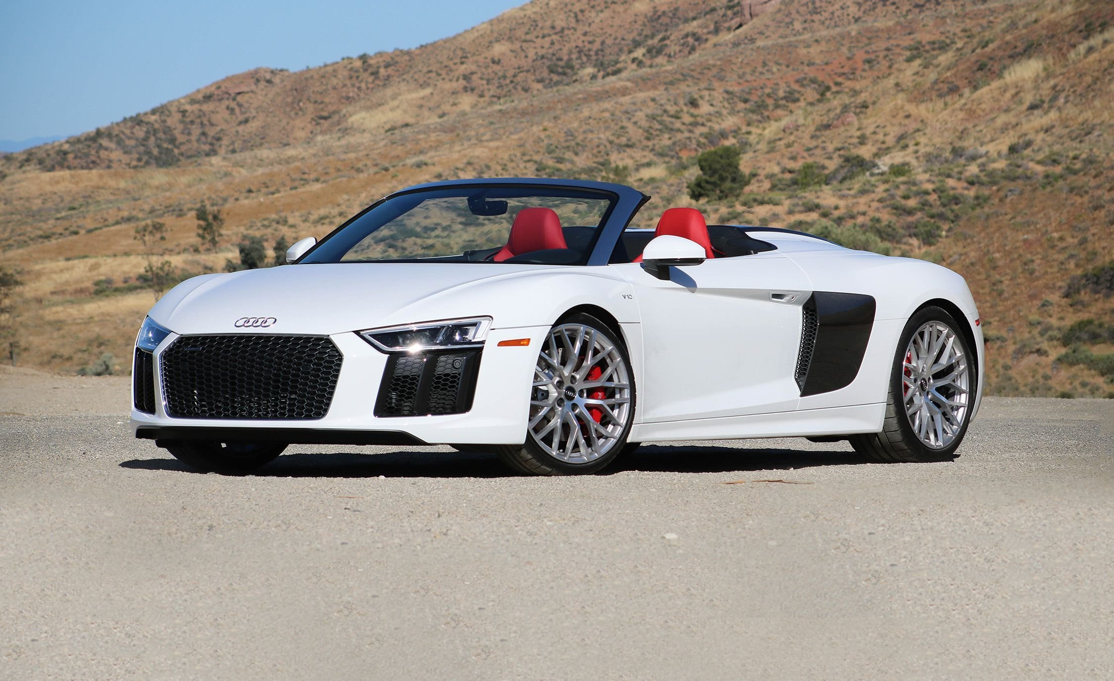 Latest 2017 Audi R8 Spyder Instrumented Test Review Car And Free Download