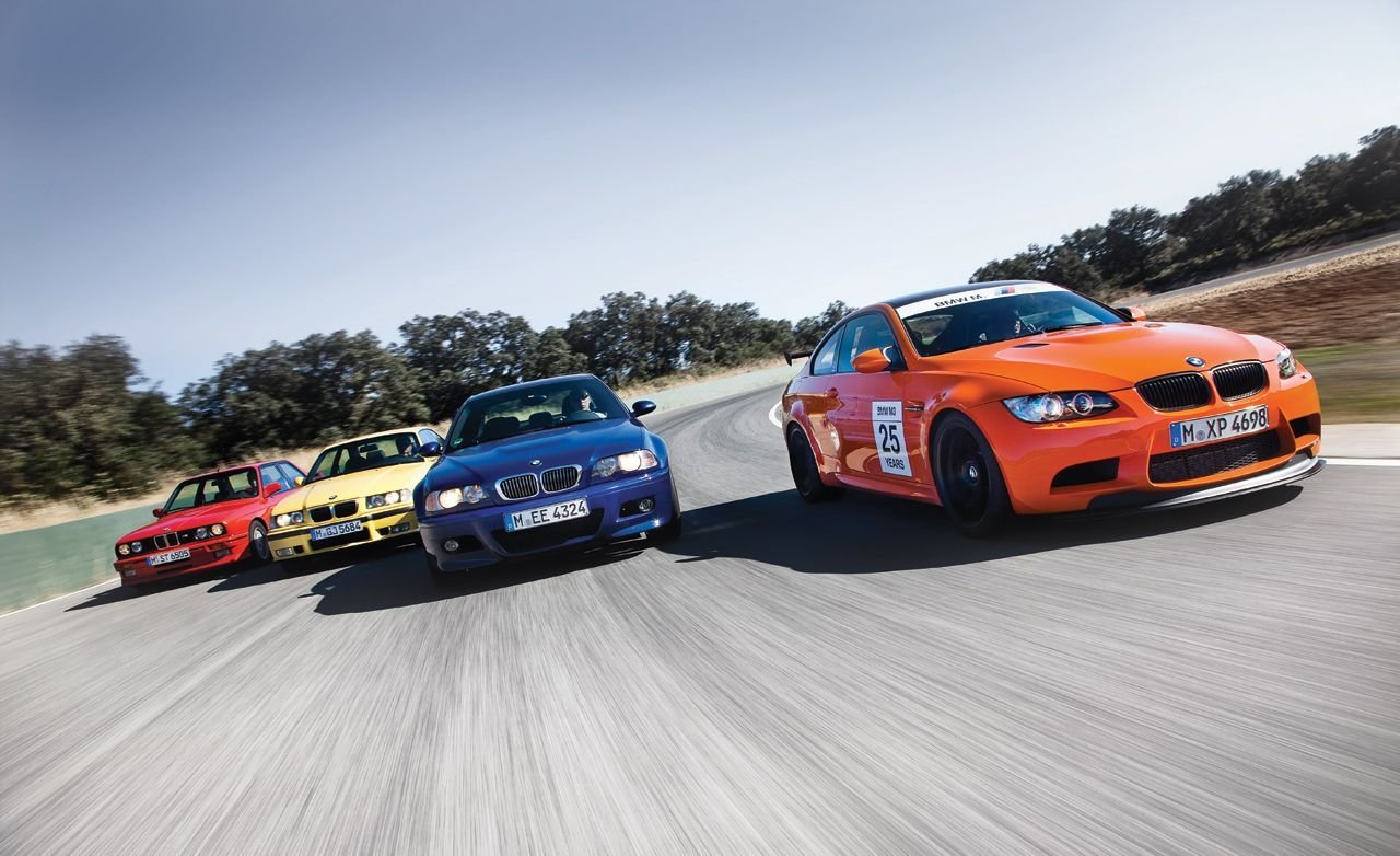 Latest Bmw M3 All Four Generations Track Tested Feature Car Free Download