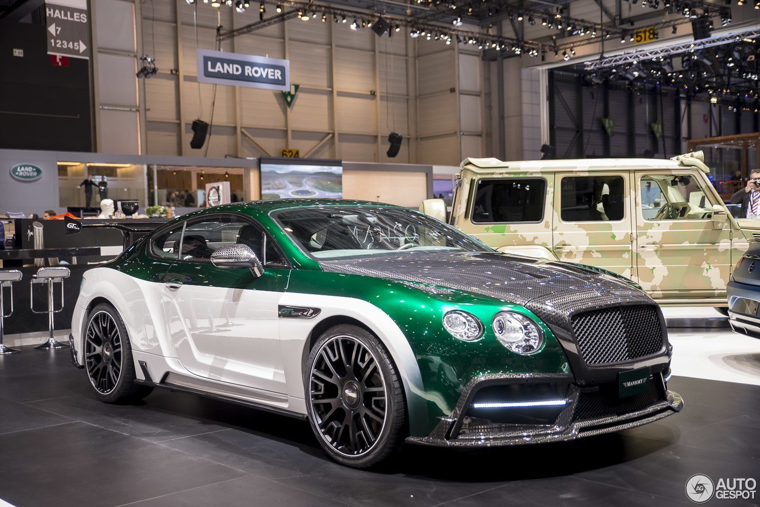 Latest Geneva 2015 Mansory Gt Race Free Download