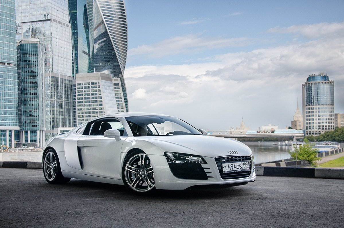 Latest Photoshoot Audi R8 In Moscow Free Download